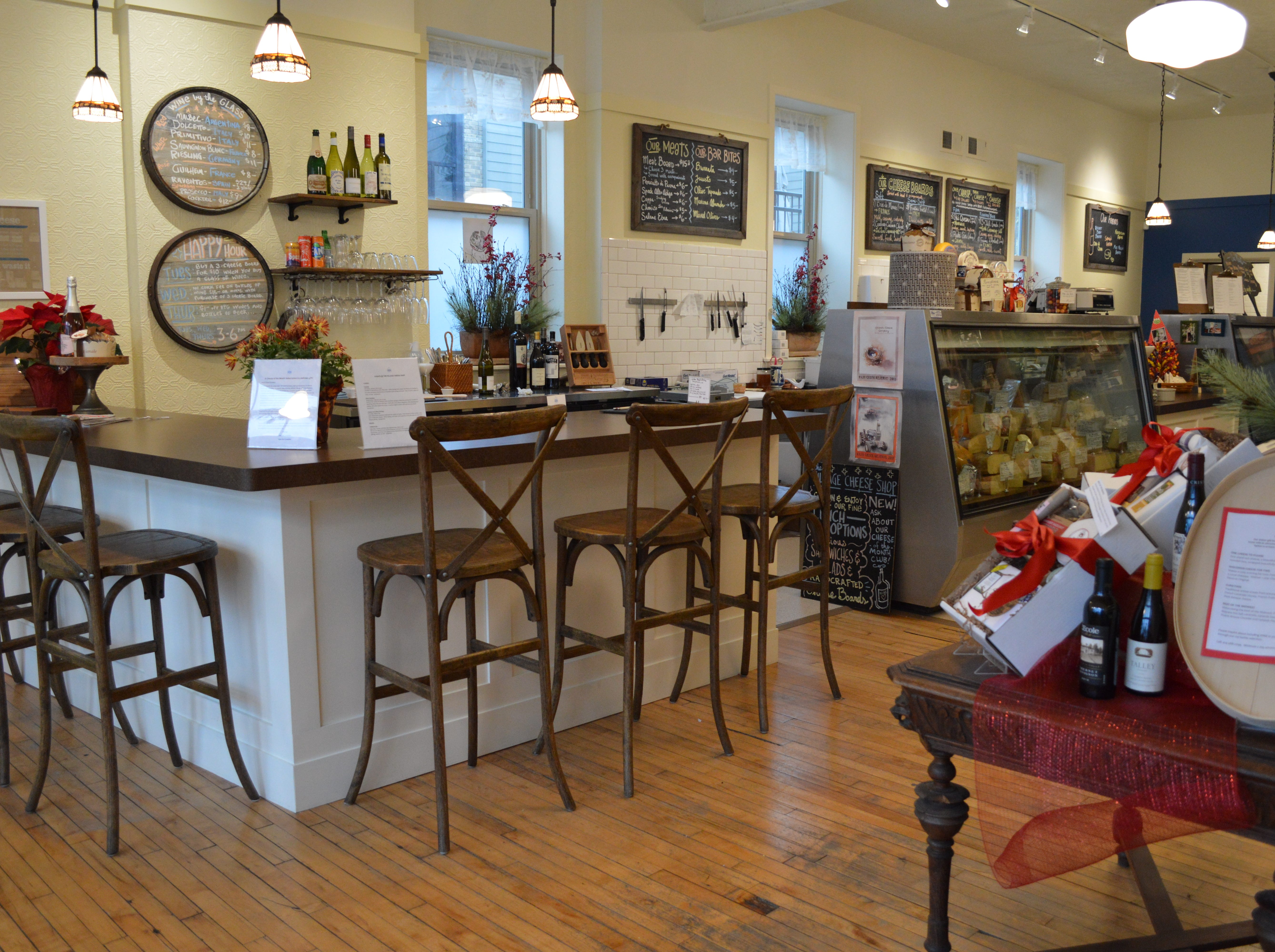 The Village Cheese Shop is located at 1430 Underwood Ave., Wauwatosa.