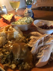 One of the specials at The Sawmill Inn is Turkey Tuesdays, which features a classic Thanksgiving dinner with all the trimmings.