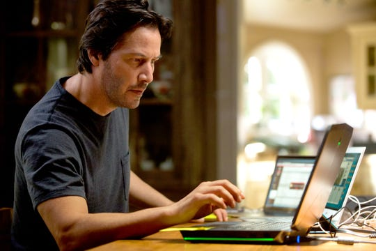 """Keanu Reeves plays a biologist determined to bring his family back from the dead in """"Replicas."""""""