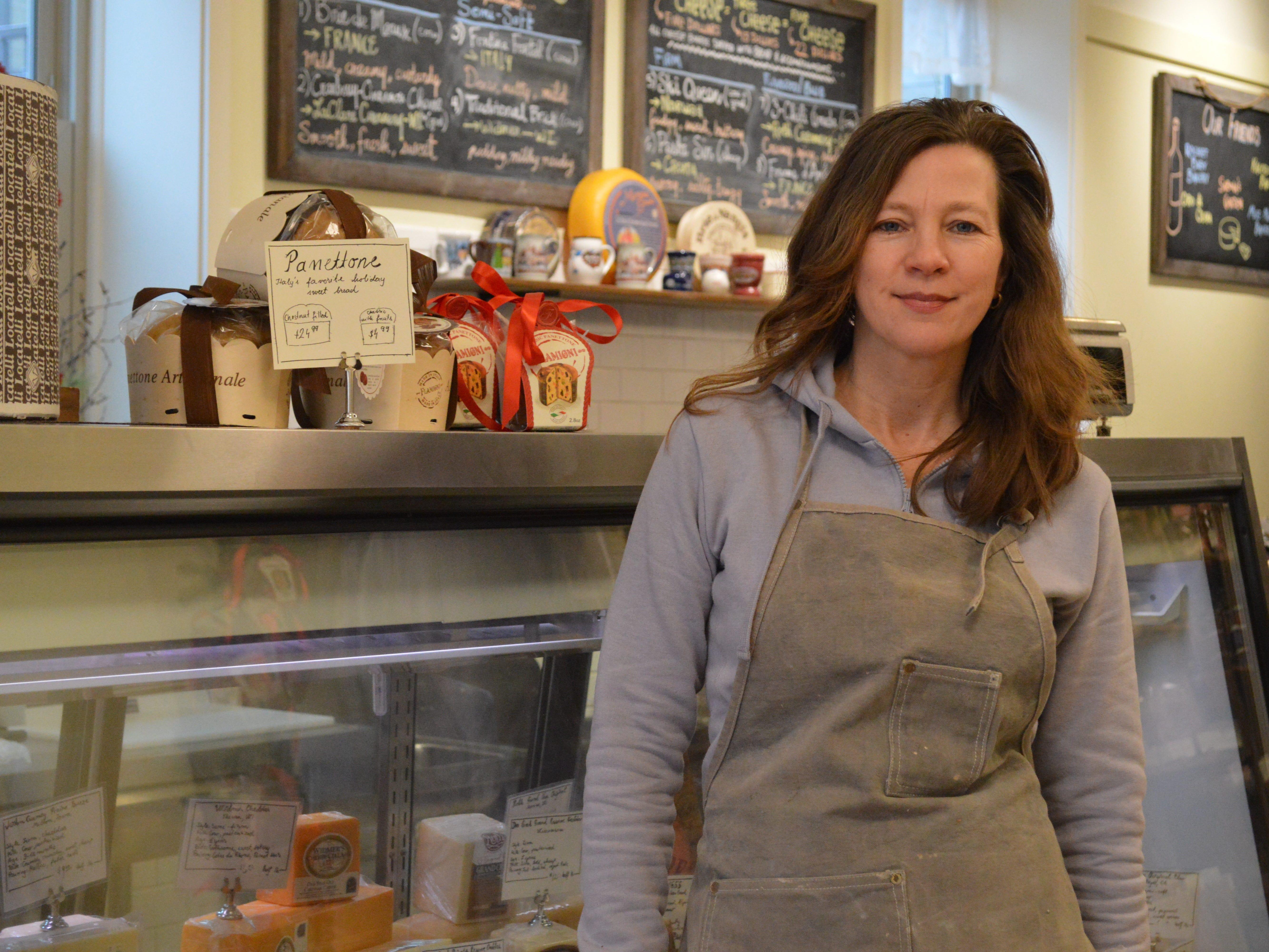 Sabina Magyar opened The Village Cheese Shop in Wauwatosa in 2017.