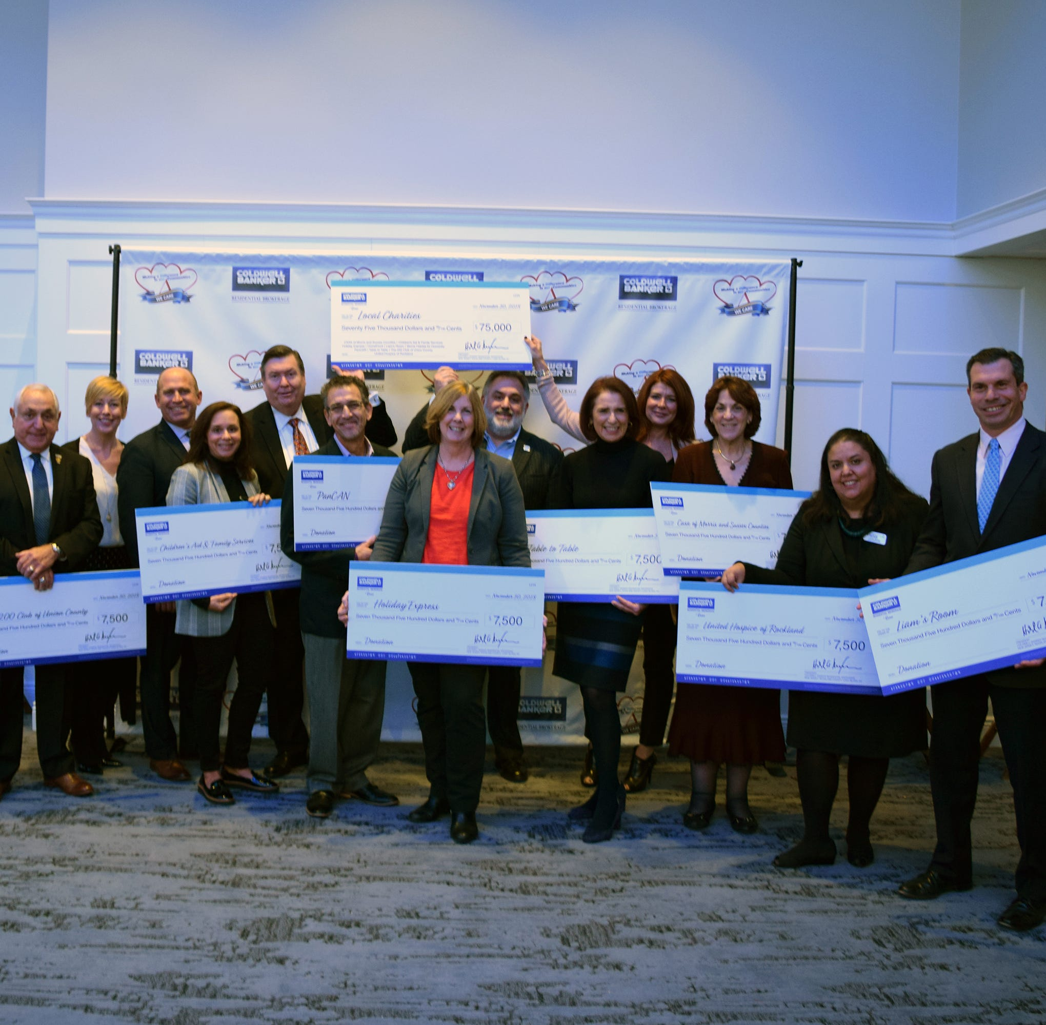 Coldwell Baker Residential Brokerage Cares donates $75K to local charities