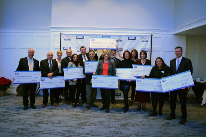 Coldwell Banker Residential Brokerage Cares, the philanthropic arm of Coldwell Banker Residential Brokerage in New Jersey and Rockland County, New York, recently donated checks totaling $75,000 to 10 charities who assist residents in need throughout local communities.