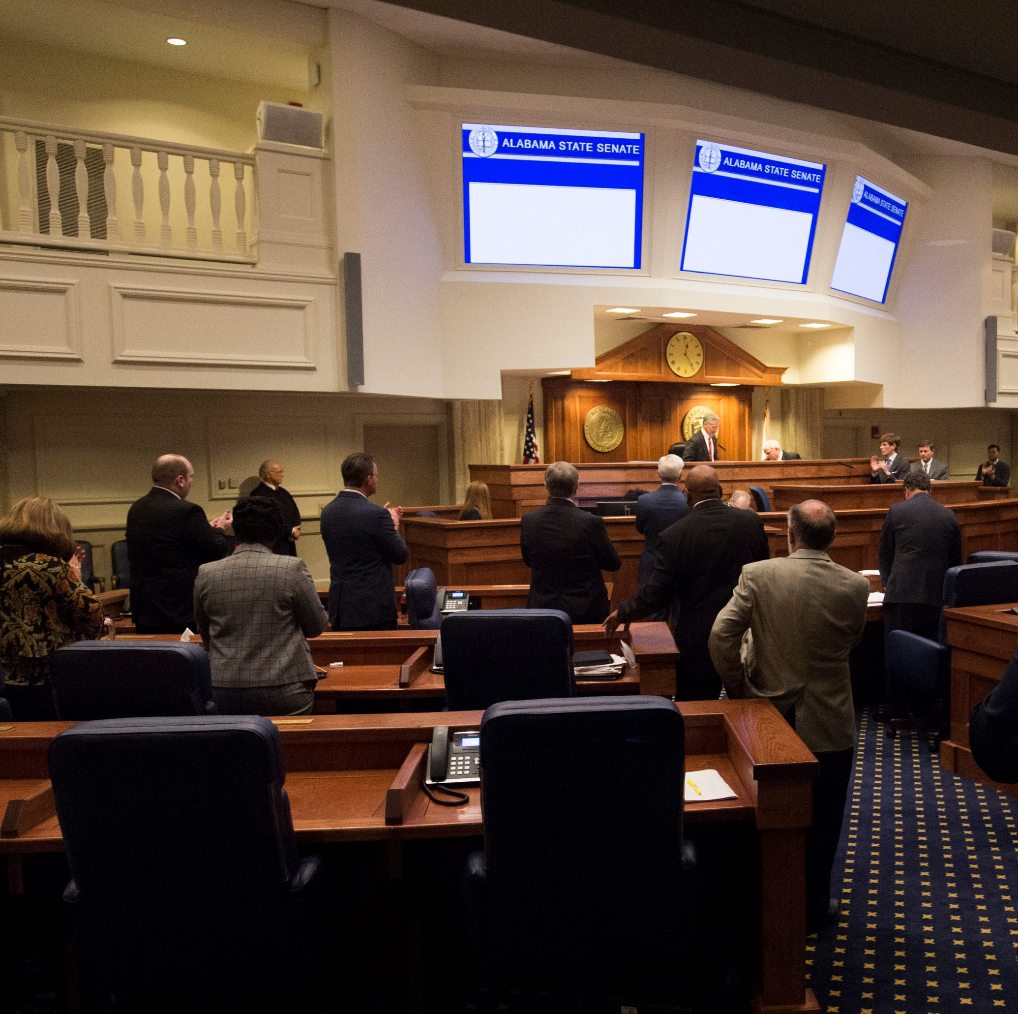 The Alabama State Senate during the 2019 Alabama Legislature's organizational session at the Alabama State House in Montgomery, Ala., on Tuesday, Jan. 8, 2019.