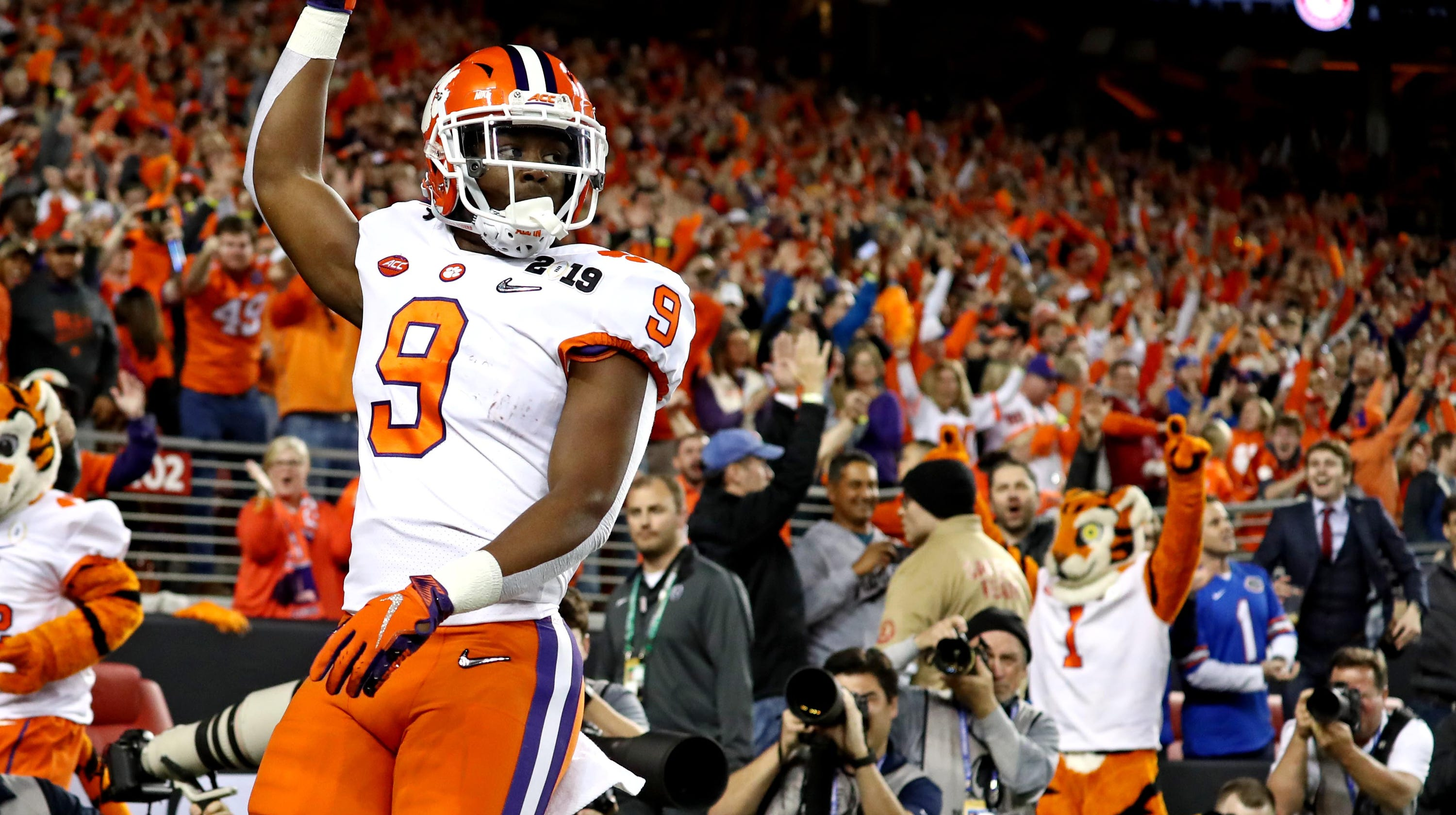 Expanded Scoring Summary Clemson Tigers 44 Alabama Crimson