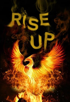 """The phoenix image is part of the """"Rise Up"""" theme for BTW's Showcase 2019."""