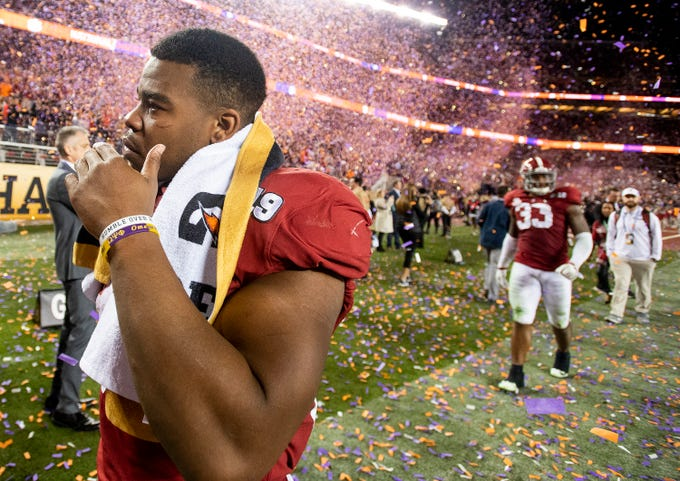 CFP Championship  Alabama s Saivion Smith leaves game with injury ded13dea1