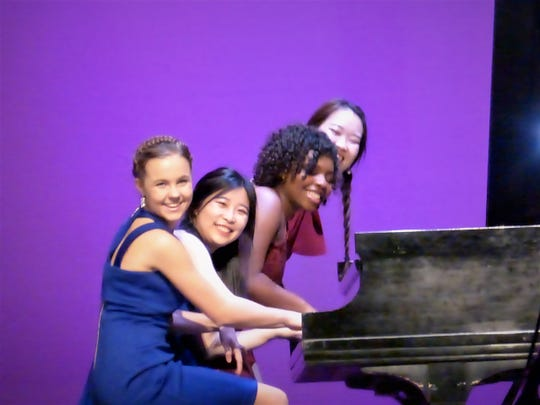 Pianists from BTW's 2018 Showcase.