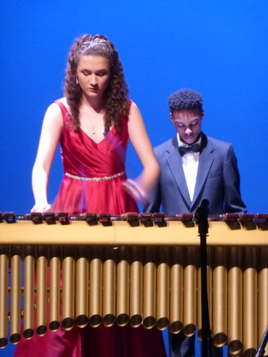 Xylophone performance at the 2018 Showcase.