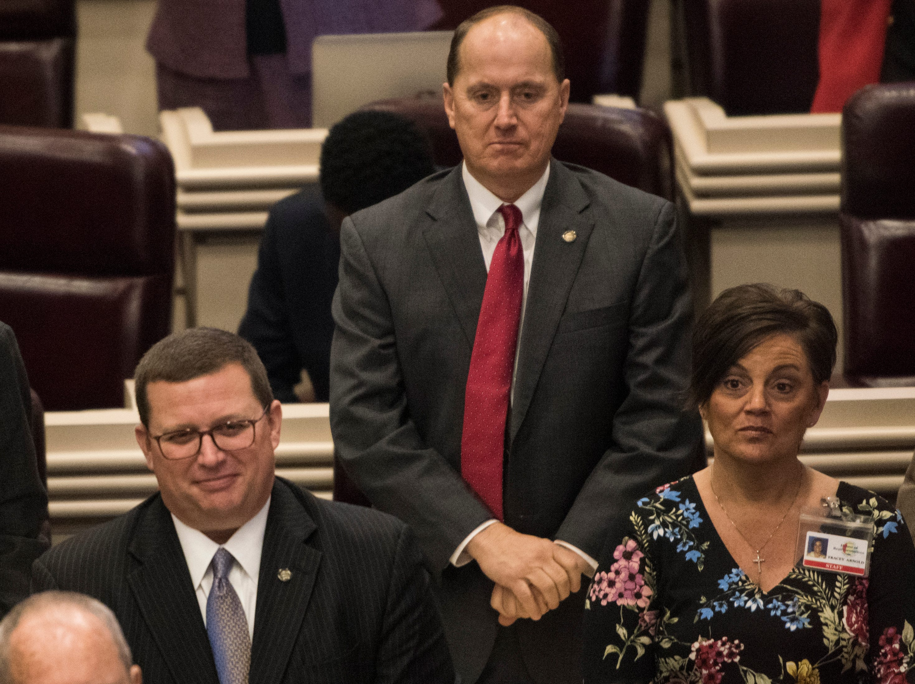 Rep. Reed Ingram during the 2019 Alabama Legislature's organizational session at the Alabama State House in Montgomery, Ala., on Tuesday, Jan. 8, 2019.