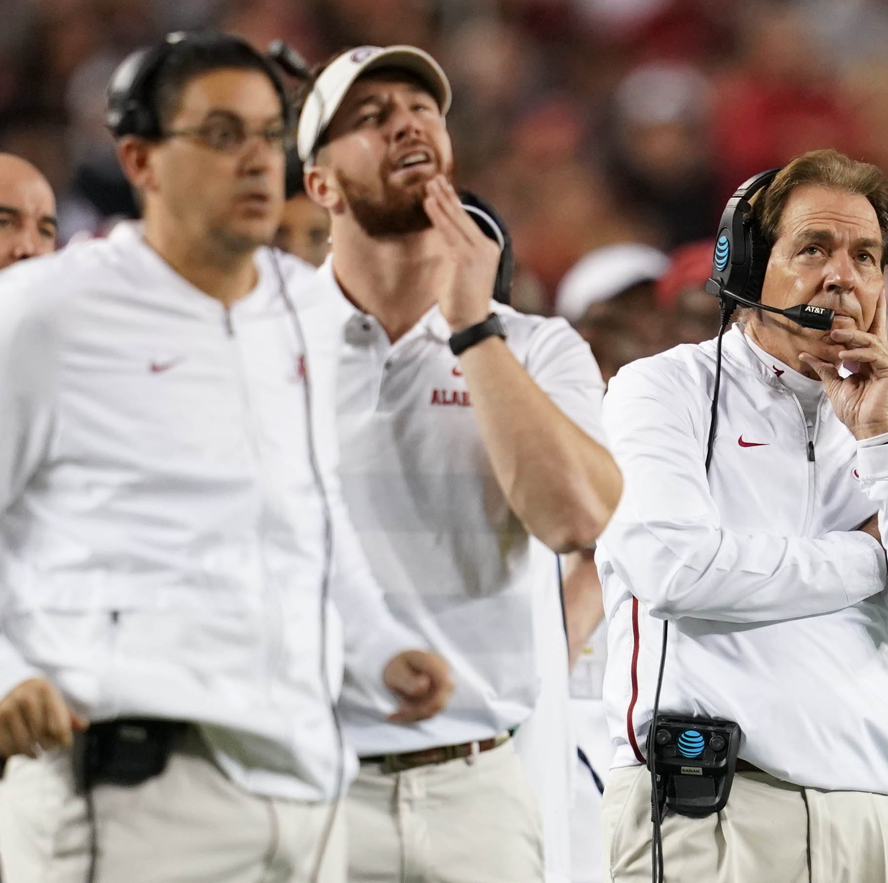Alabama's offseason staff overhaul begins as 2 offensive assistants leave
