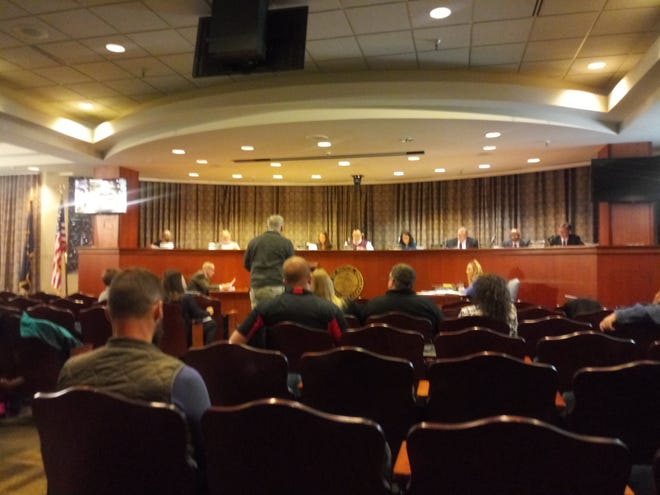 Muncie City Council meeting on January 7, 2019.