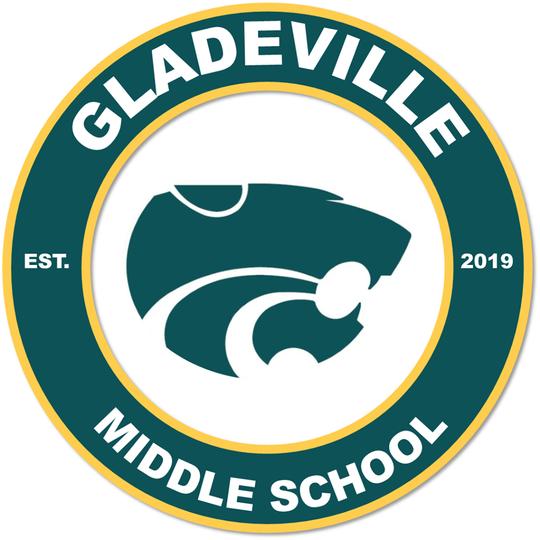 Gladeville Middle's school logo.