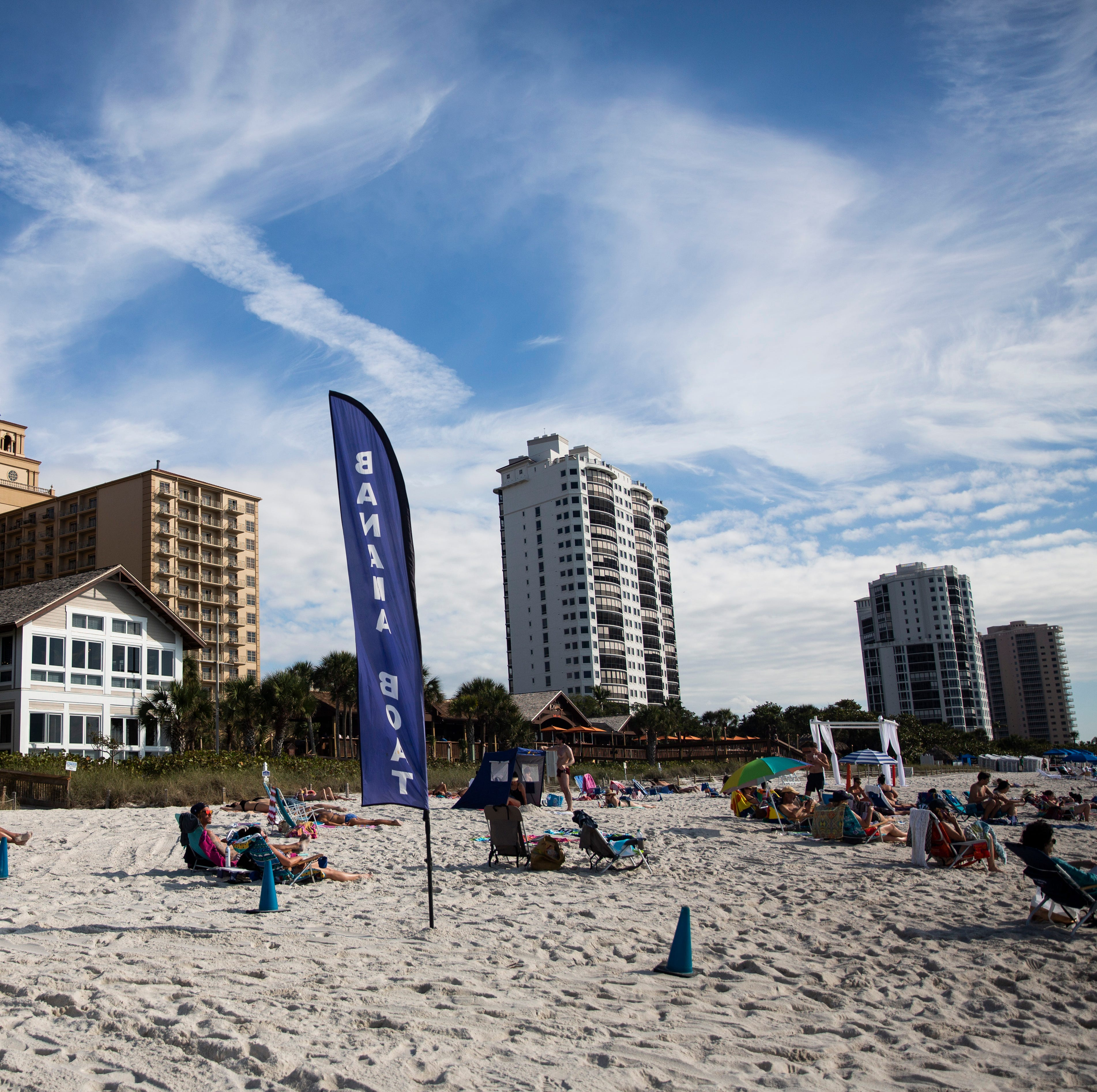 Whose beach is it? Condo owners, The Ritz stake their claims, shoo public away