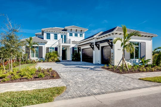 6,409 total square foot Domenica model at Treviso Bay.