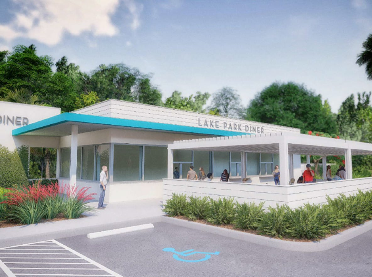 Lake Park Diner is targeted to open in fall 2019 on Seventh Avenue North just east of U.S. 41 in Naples.