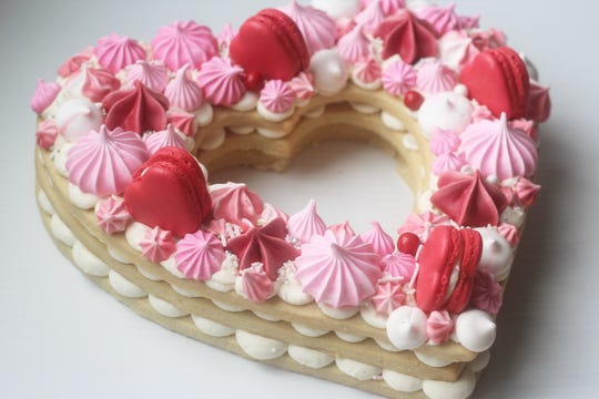 Mimi's cake tarte for Valentine's Day