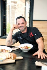 Chef Anton Testino,  owner of Axton's in Pompton Lakes has just opened a pizza joint next door to his restaurant