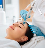 The hydrafacial treatment at the Fountain Spa in Ramsey