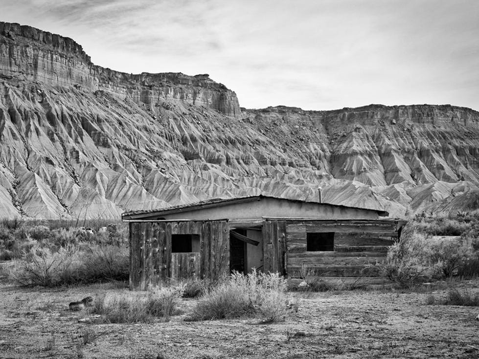 """Abandoned,"" by Scott Winans, a Doña Ana Photography Club Blue Ribbon Award Winner 2018."