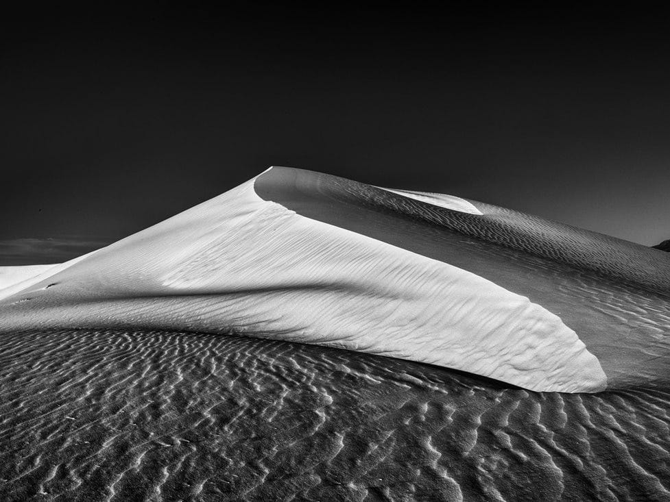 """Morning Dune,"" by Will Keener, a Doña Ana Photography Club Blue Ribbon Award Winner 2018."