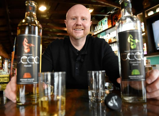 Don Ferguson of Canton, a former VP with Quicken Loans, and his wife Nayana Ferguson partnered with Michael Rowoldt to produce Teeq tequila.
