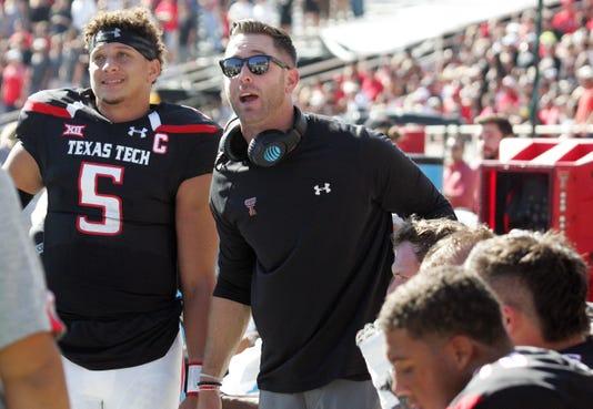 Ncaa Football West Virginia At Texas Tech