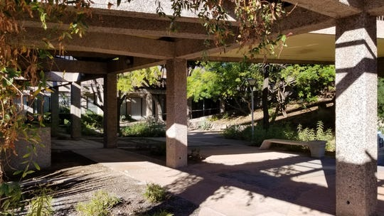The garden level of the Tempe Municipal Building will be renovated as part of a larger building-wide modernization project.