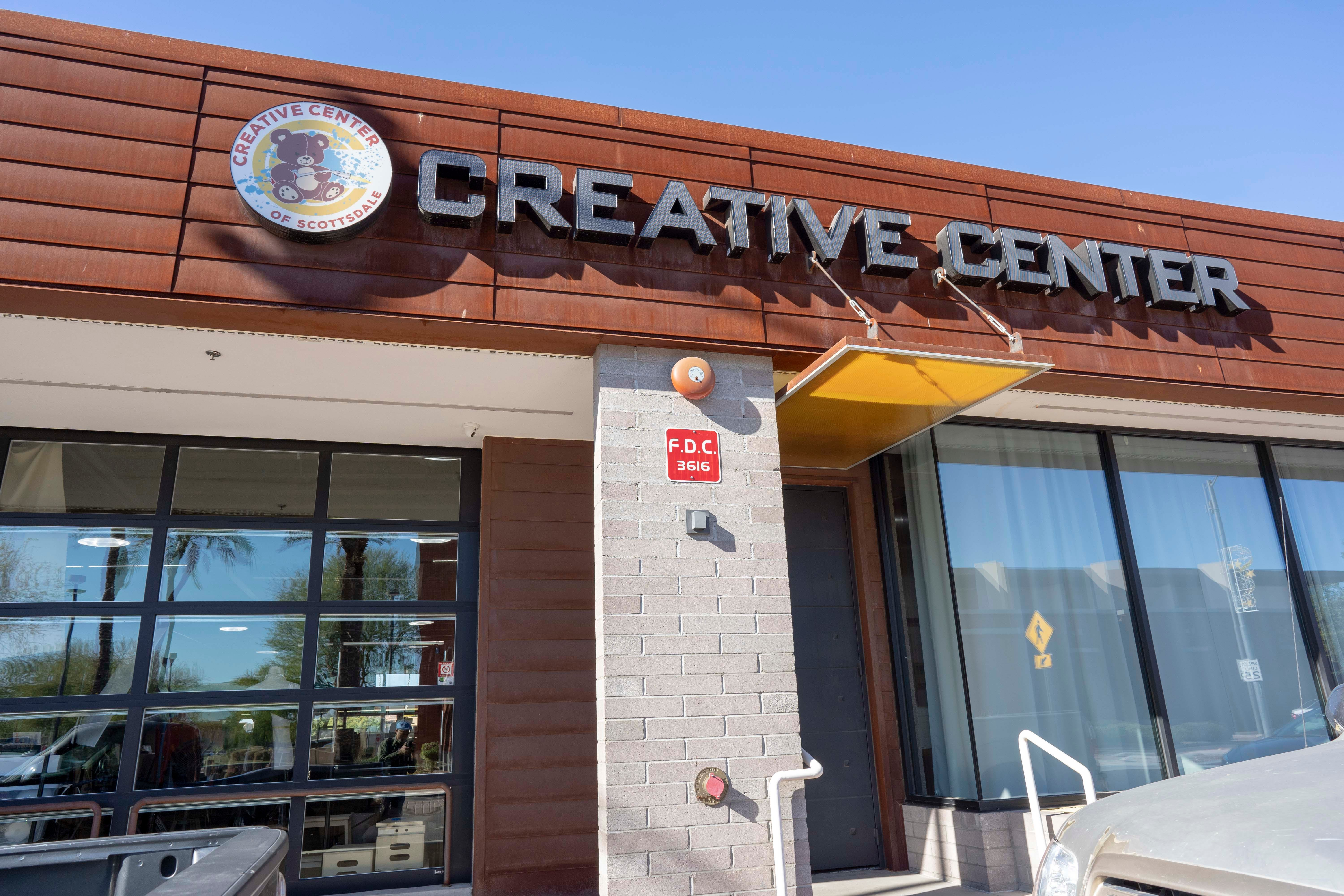 Creative Center Of Scottsdale Co Working Space Helps Artists Get Their Work  Out