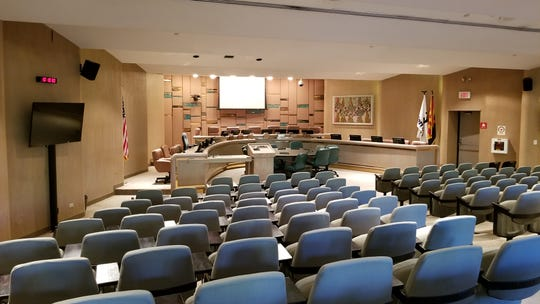 Construction on a remodel of the Tempe council chambers is expected to start in July.