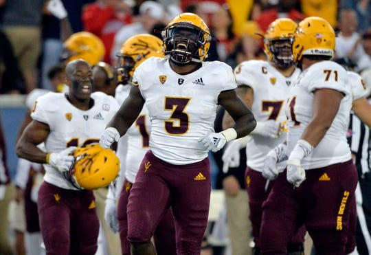 Eno Benjamin rushed for 1,642 yards and 16 touchdowns on an astonishing 300 carries as a sophomore last season.