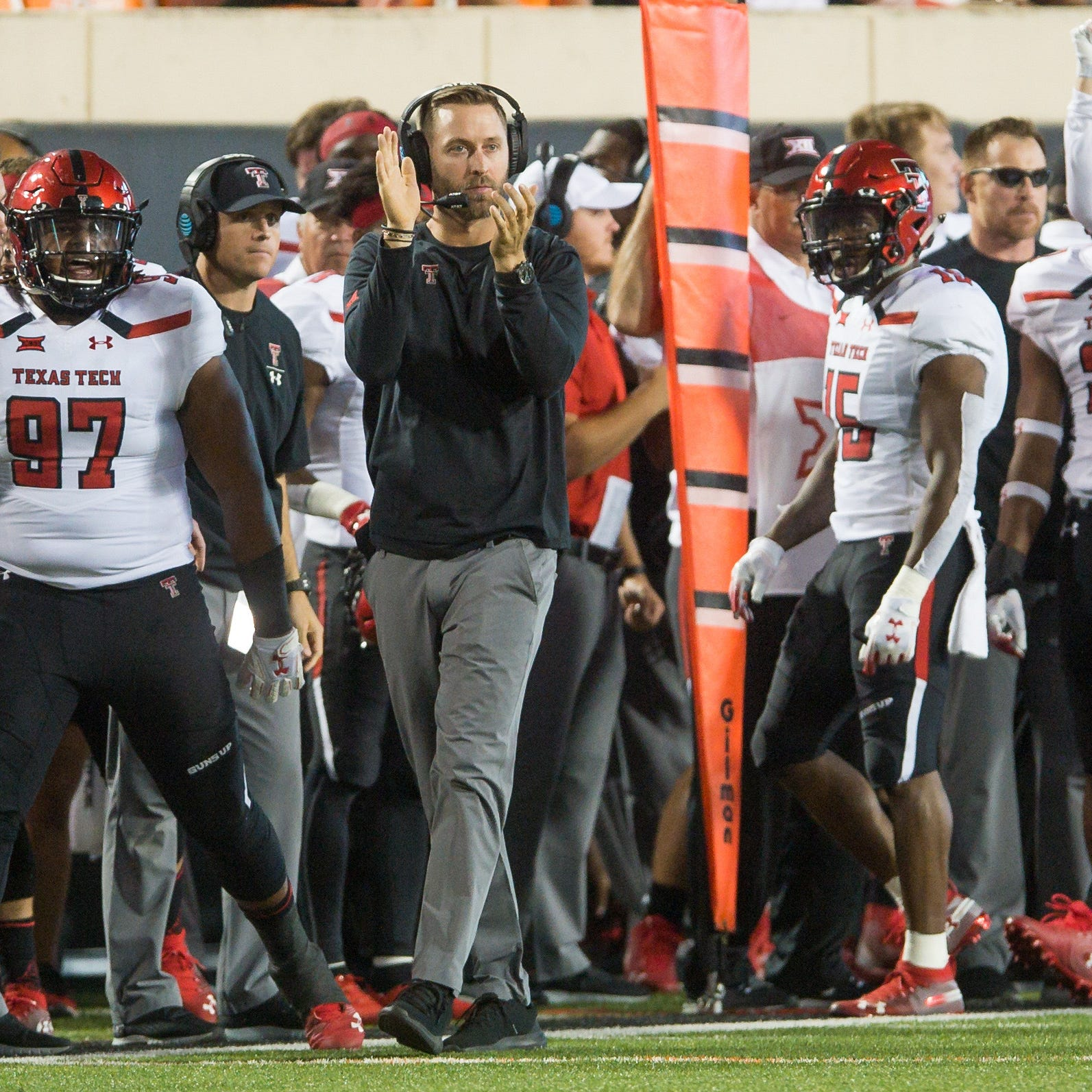 Arizona Cardinals interviewing Kliff Kingsbury for head coaching position, report says
