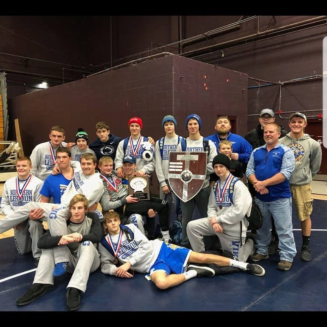 The Northern Lebanon wrestling team captured the Brawl in the Hall tournament in Bristol, TN over the weekend, a 24-team event that featured wrestlers from five states.
