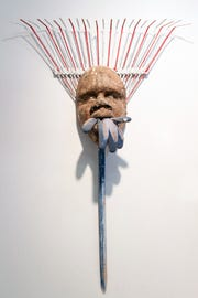 """Placate,"" by Suprina is included in the exhibit ""Emancipation of the Mind,"" at Arts Mid-Hudson."