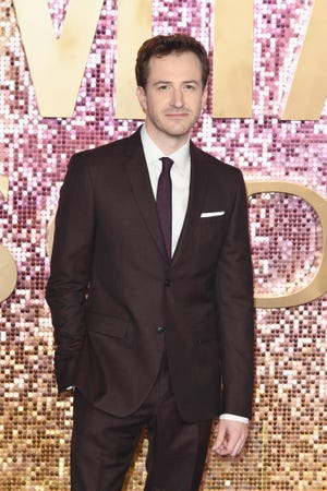 Joe Mazzello attends the World Premiere of 'Bohemian Rhapsody' at SSE Arena Wembley on October 23, 2018 in London, England. Mazzello portrays Queen bass player John Deacon.