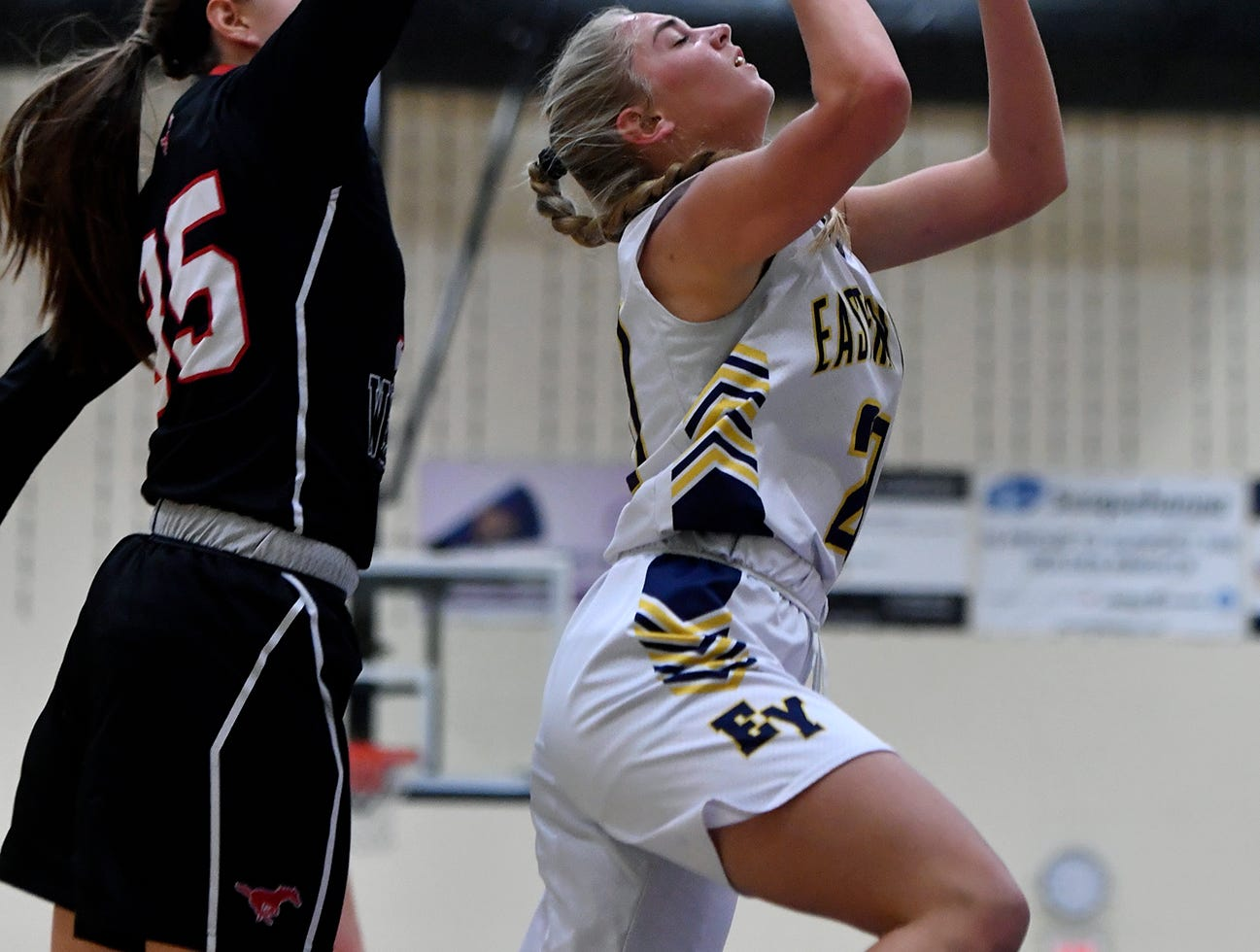South Western at Eastern York girls' basketball, Monday, January 7, 2019. John A. Pavoncello photo