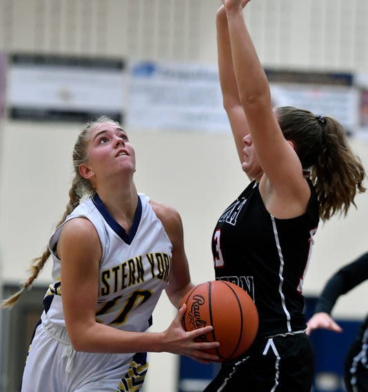 South Western At Eastern York Girls Basketball