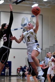 Cassidy Arnold is one of the senior leaders on the surging Eastern York girls' basketball team.