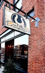 Gift Horse Brewing Company co-owner Jason Snyder says Tuesday, Jan. 8, 2019, that due to the government shutdown, the Alcohol and Tobacco Tax and Trade Bureau has ceased operations, delaying approval of labels for four beers he is planning to market. Bill Kalina photo