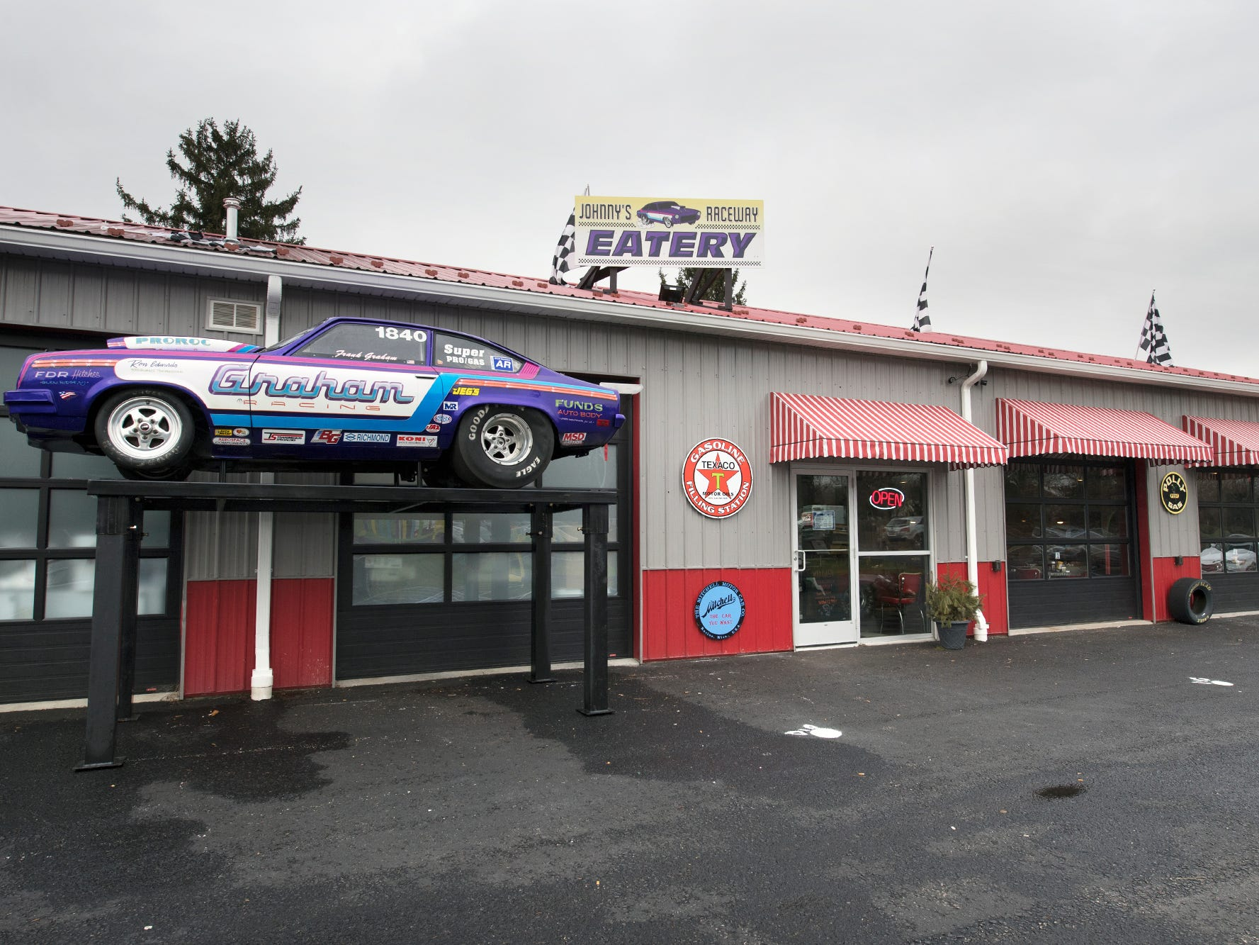 Johnny's Raceway Eatery on South Main Street in Dover Tuesday January 8, 2019.