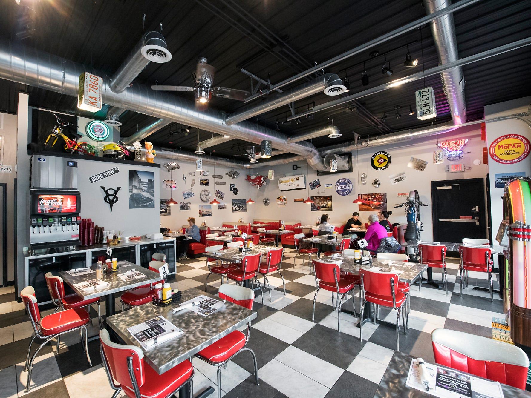 The interior of Johnny's Raceway Eatery Tuesday January 8, 2019.