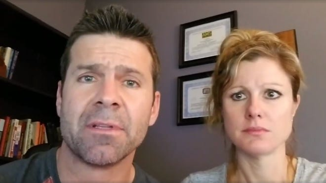 Jeremy Kappell in an apology video he posted on Facebook.