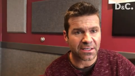 Fired WHEC meteorologist Jeremy Kappell says he was talking too fast and made a mistake.