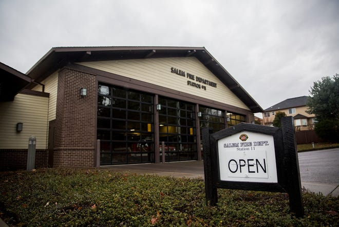 Salem Fire Department Station 11 in Salem on Tuesday, Dec. 8, 2018.