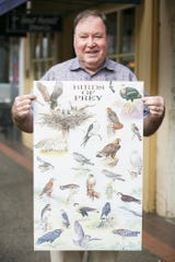 Mike Unger with the Salem Audubon Society.