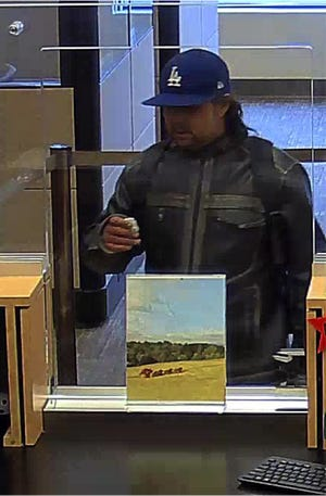 Investigators are looking for a male suspect who robbed the Wells Fargo at 3245 Market Street NE Thursday around 4 p.m. The suspect entered the bank, demanded money, got the cash and left.
