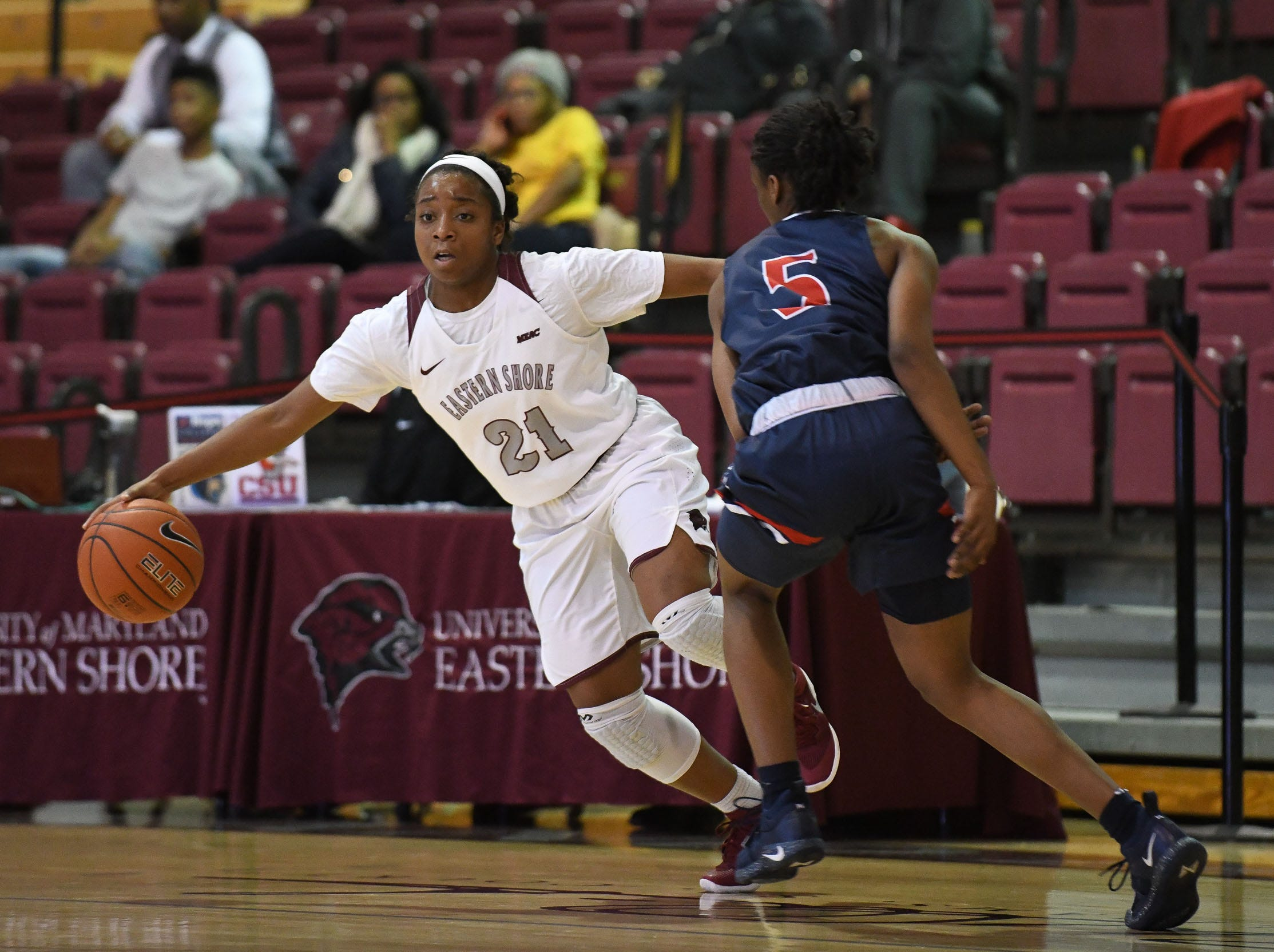 Maryland Eastern Shore's Ra'jean Martin during the game against Howard University on Monday, Jan 7, 2018.