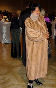 Mitzi Foppe at Mayor's Gala.