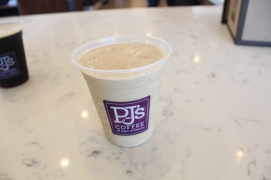 Caramel Granita available at PJ's Coffee in Bossier City.