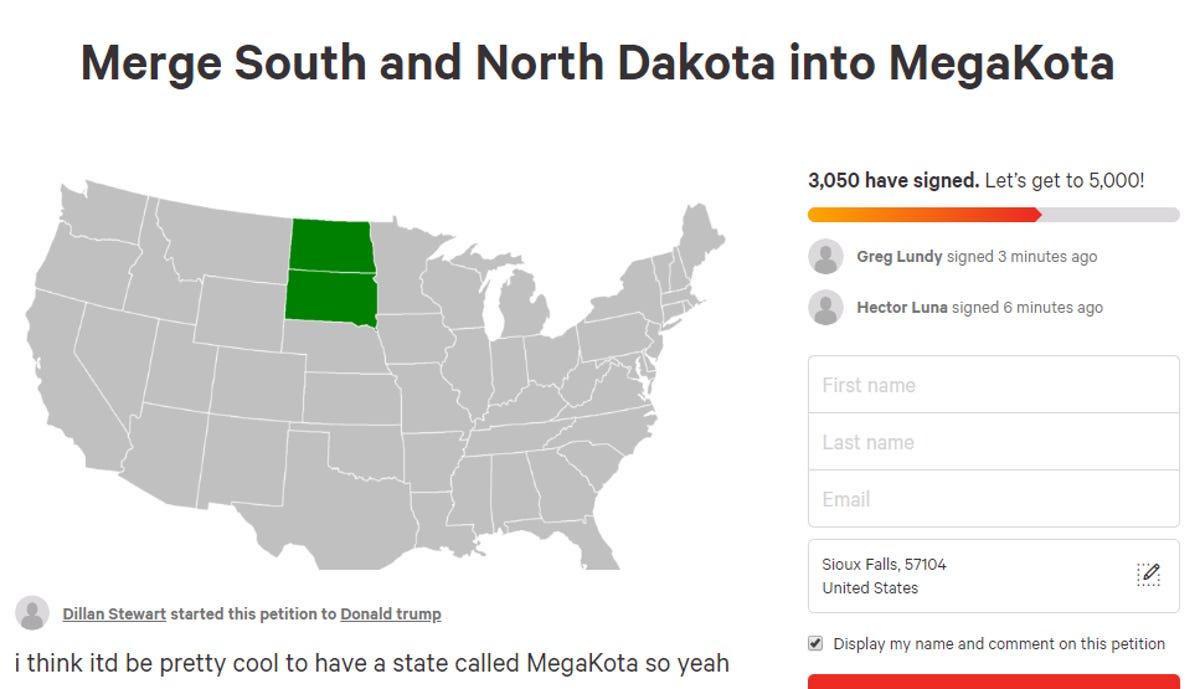 North Dakota-South Dakota merger 'MegaKota' not the dumbest