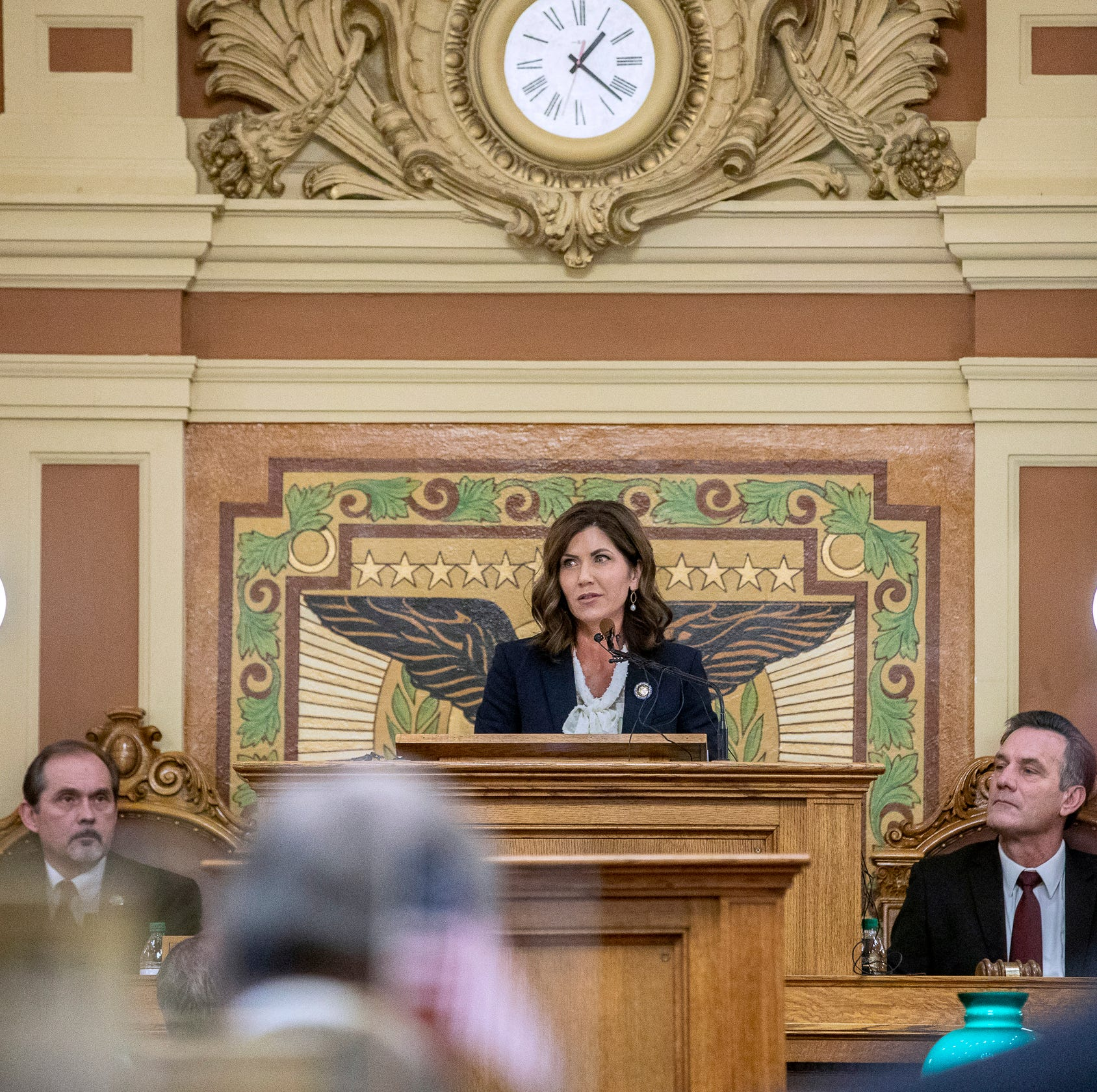 Ellis: In early test, Gov. Kristi Noem stands up to power grab in palace intrigue